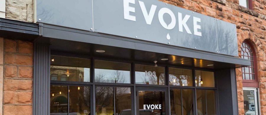 Location April 2015 Cafe Evoke