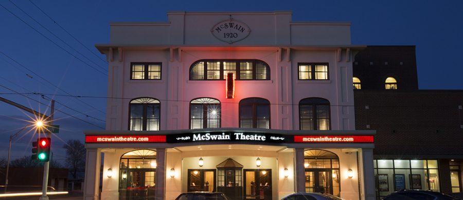 Location January 2017, McSwain Theatre