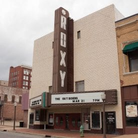 Location April 2017, Roxy Theatre