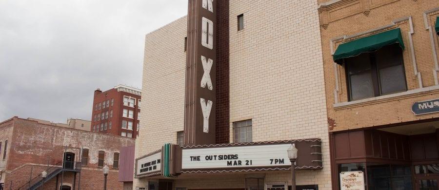Location April 2017, Roxy Theatre