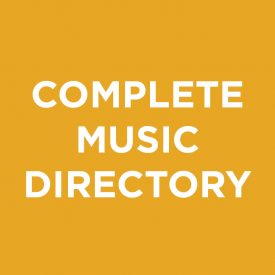 Complete Music Directory, Talent