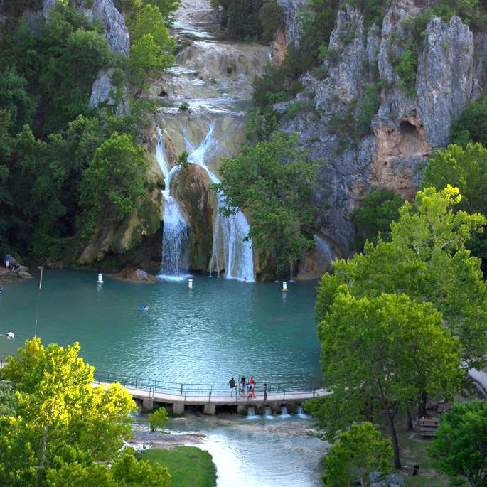 Featured Location For June 2017 Turner Falls Oklahoma