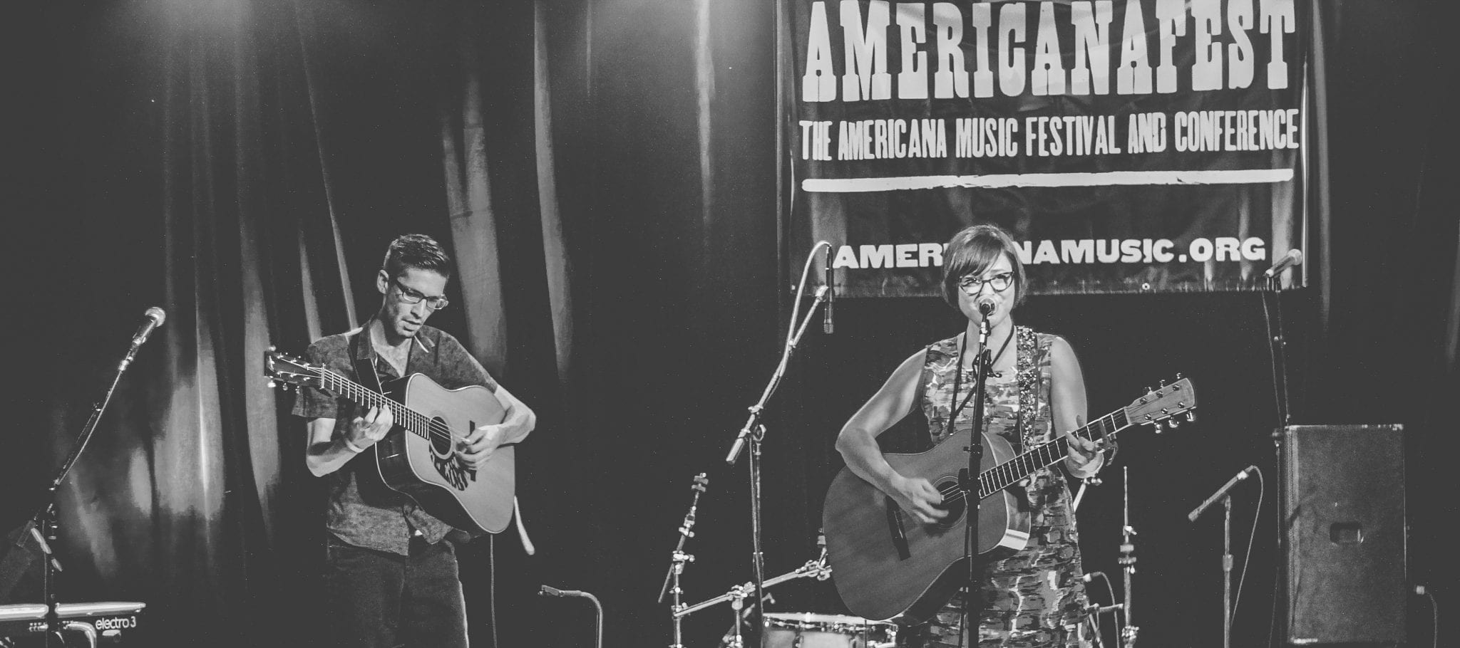 Carter Sampson at AmericanaFest 2017