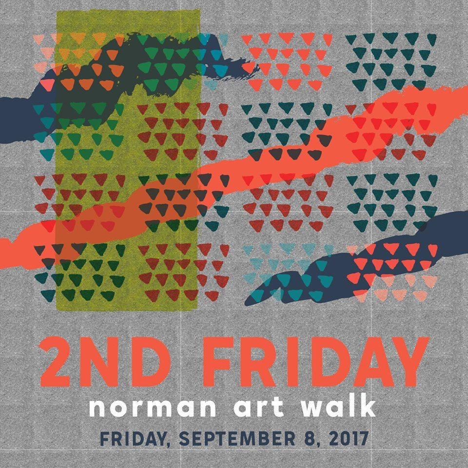 2nd Friday Artwalk Norman September 2017