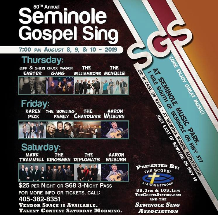 Seminole Gospel Sing - Oklahoma Film and Music Office