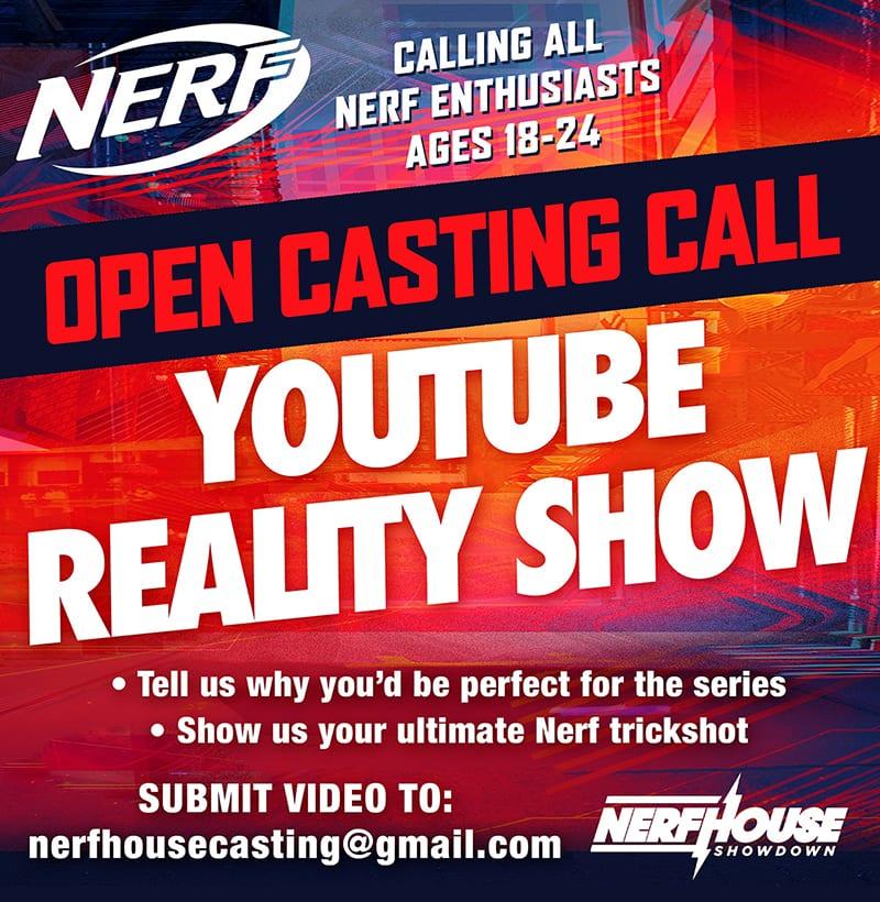 Nerf Casting Call